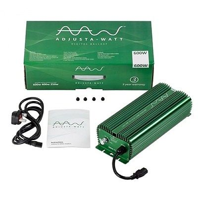 Adjusta Watt 1000W Digital Dimmable Ballast Hps Lighting Hydroponics