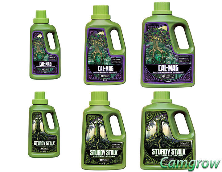 Emerald Harvest Cal-Mag & Sturdy Stalk – Keep Plants Green & Healthy Hydroponics