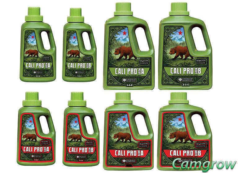 Emerald Harvest – Cali Pro Grow A+B & Cali Pro Bloom A+B – Nutrients Hydroponics
