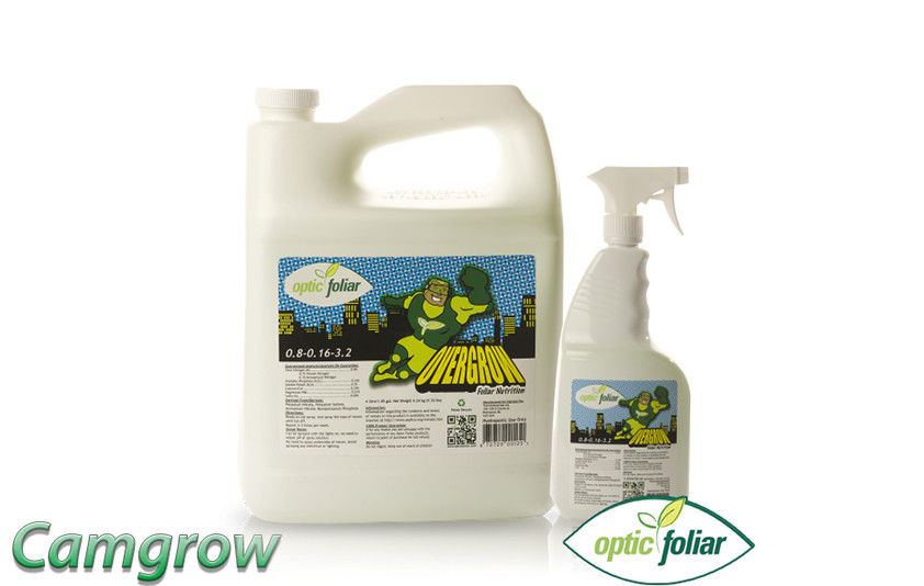Optic Foliar – Overgrow Multipurpose Deficiency Spray 1L & 4 Litre  Hydroponics