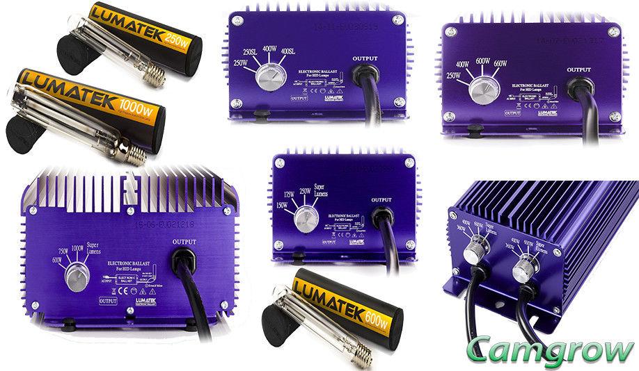 Lumatek – Ballast Dimmable 250W/400W/600w/1000W & Twin 600W 240v Hps Controller