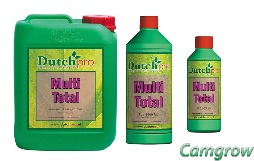 Dutch Pro – Multi Total 250ml – 1L – 5L – Helps Nutrient Uptake Hydro/Soil/coco