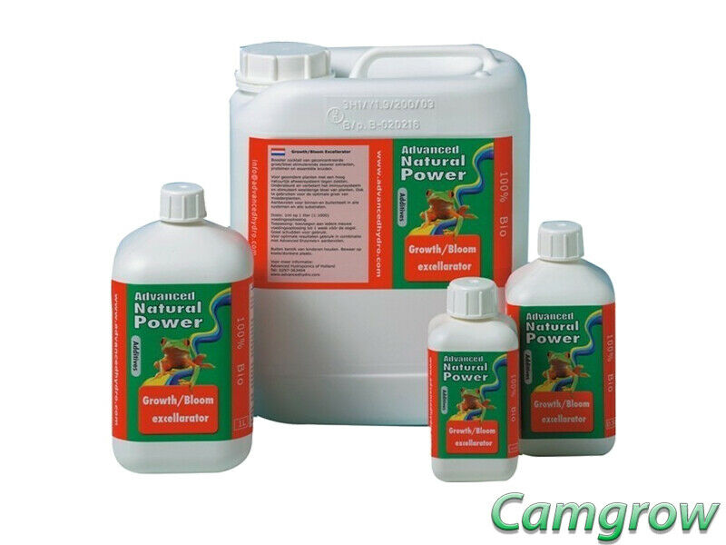 Advanced Hydroponics Natural Power Growth Bloom Excellarator – Plant Booster