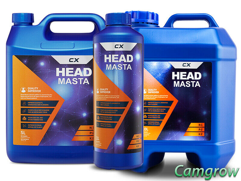 CX Horticulture Head Masta – High Yielding Quality Improver Additive Hydroponics