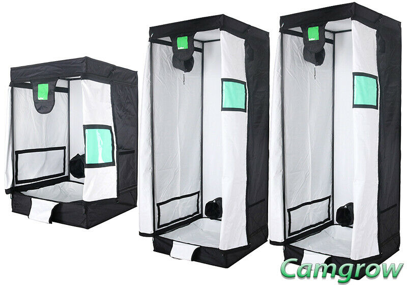 BudBox Pro 75 Series  0.75m x 0.75m  – White & Silver Lining Indoor Grow Tents