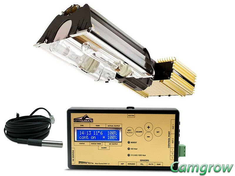 DimLux 315W Expert Series CDM Grow Light & Maxi Controller With Temp Sensor