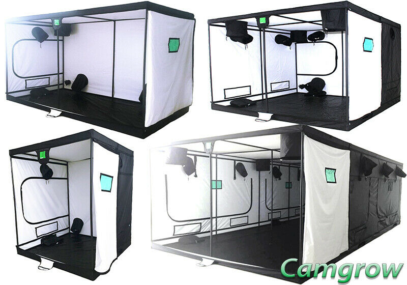 BudBox Pro White – XL, XXL Plus & Titan-Plus Grow Room Tents Hydroponics